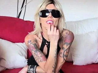 Biker Mom Makes Young Guys Cum To Her With Sexy Look