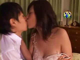 Japanese MILF And Son